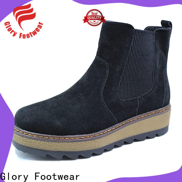 Glory Footwear womens suede winter boots from China for party