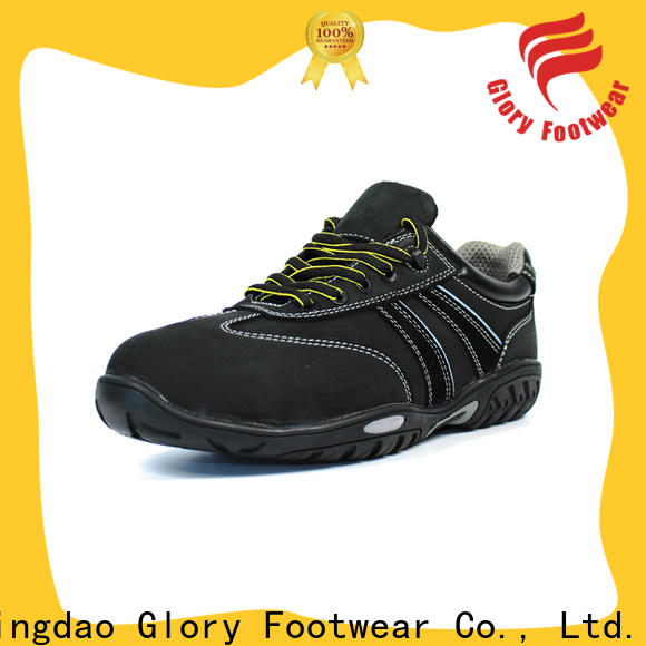 Glory Footwear high cut industrial footwear from China for business travel
