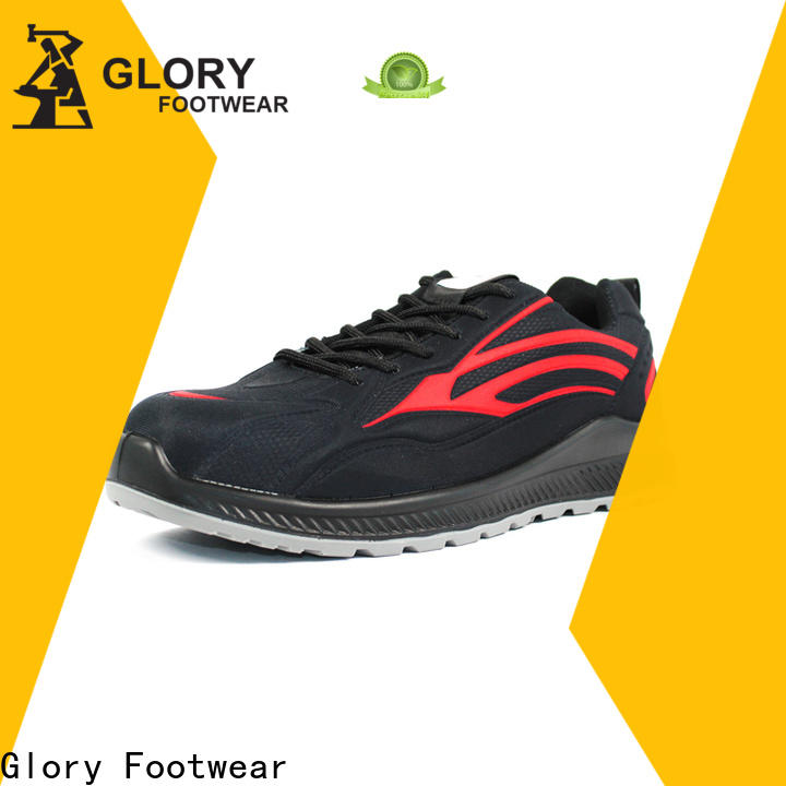 Glory Footwear leather safety shoes factory for outdoor activity