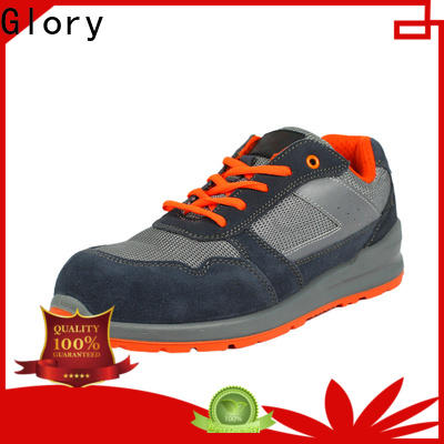 Glory Footwear hot-sale waterproof work shoes in different color for business travel