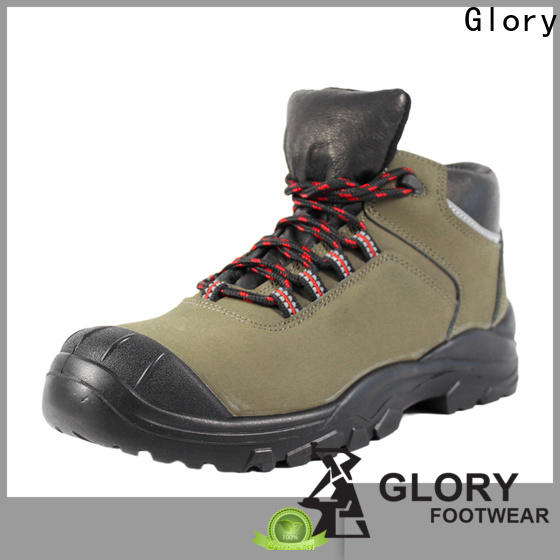 Glory Footwear leather work boots with good price for hiking