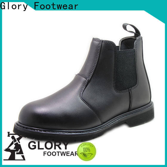 fashion low cut work boots with good price for shopping