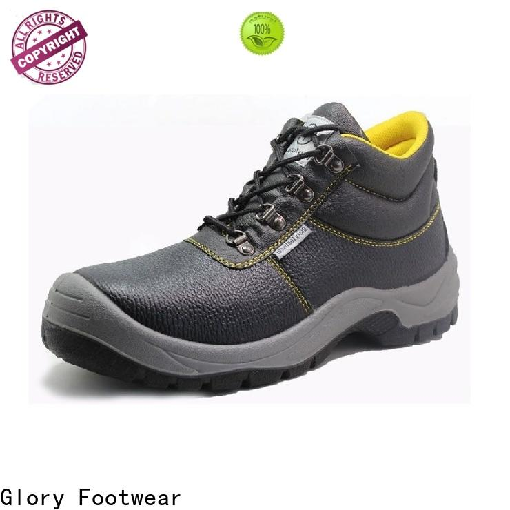 high cut leather safety shoes supplier for business travel