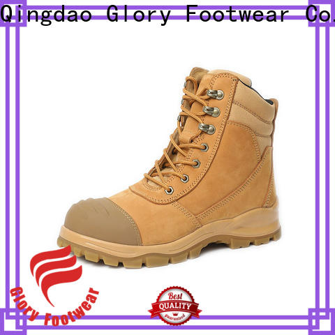 Glory Footwear high end rubber work boots free design for outdoor activity