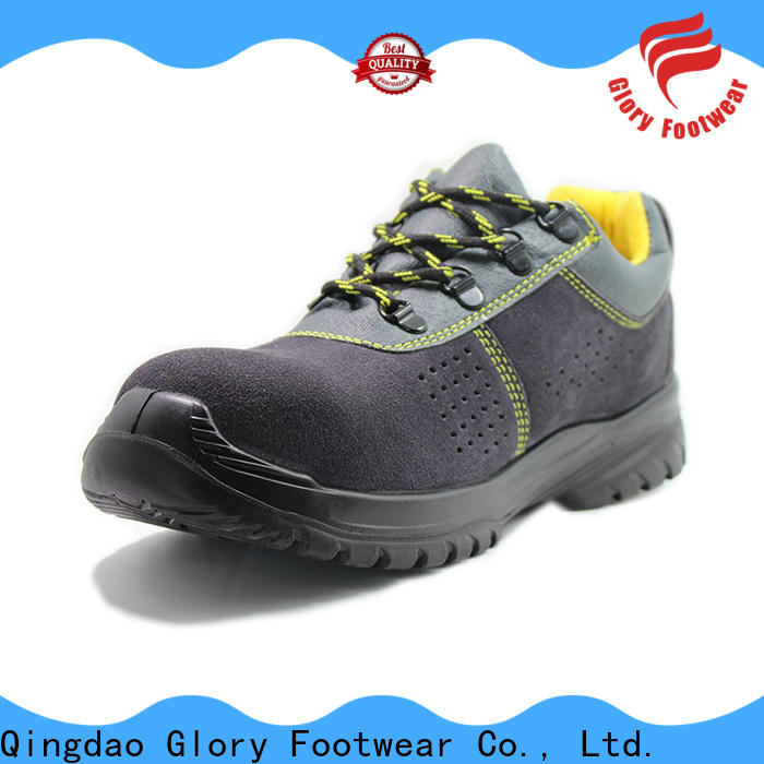 Glory Footwear high cut hiking safety boots in different color for hiking