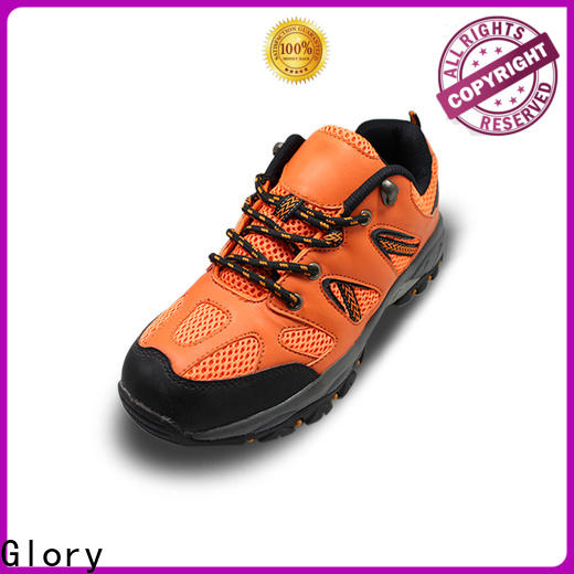 Glory Footwear leather safety shoes in different color for shopping