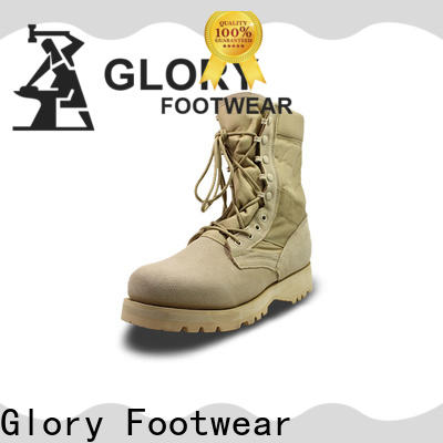 fine-quality leather military boots bulk production for party