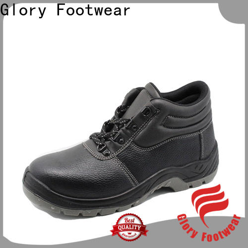 solid safety shoes for men wholesale for business travel