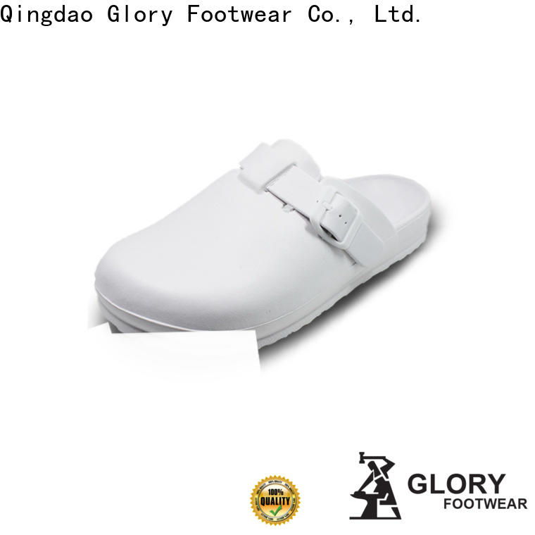 Glory Footwear nursing shoes clogs by Chinese manufaturer for winter day