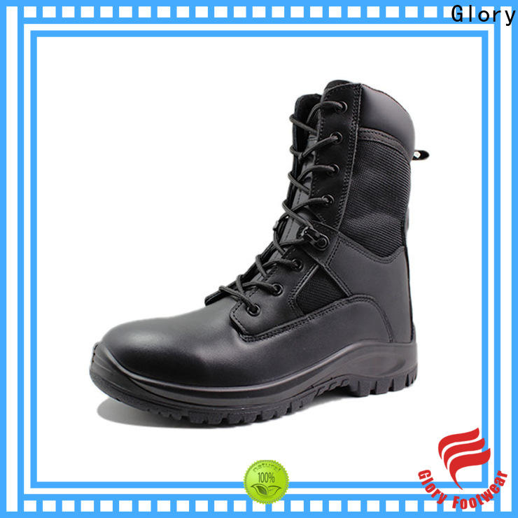 Glory Footwear classy military boots fashion bulk production for party