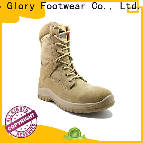 safety leather military boots widely-use for party