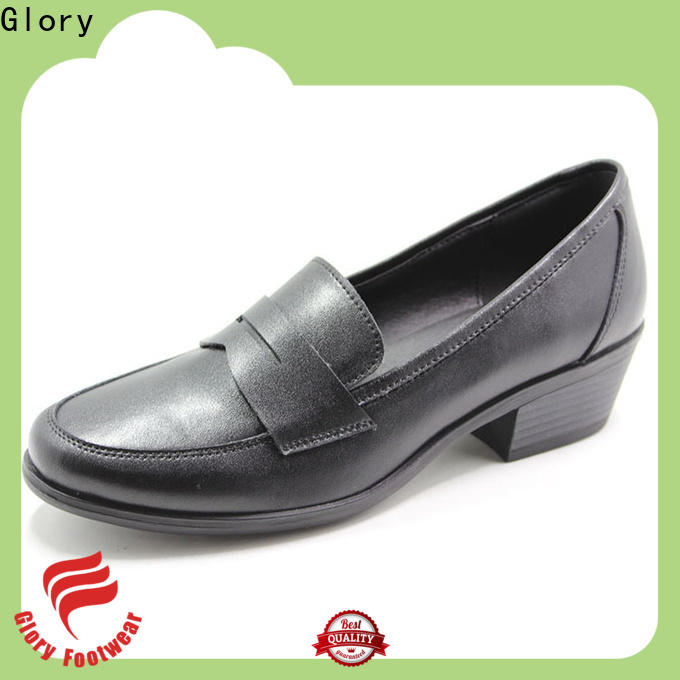 womens leather casual shoes factory price