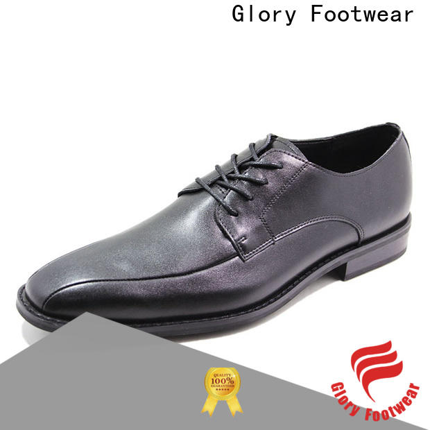 Glory Footwear leather walking shoes widely-use for winter day