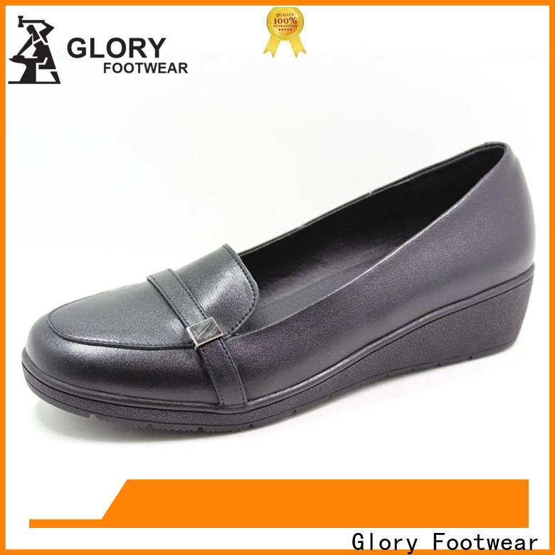 Glory Footwear stunning leather walking shoes by Chinese manufaturer for winter day