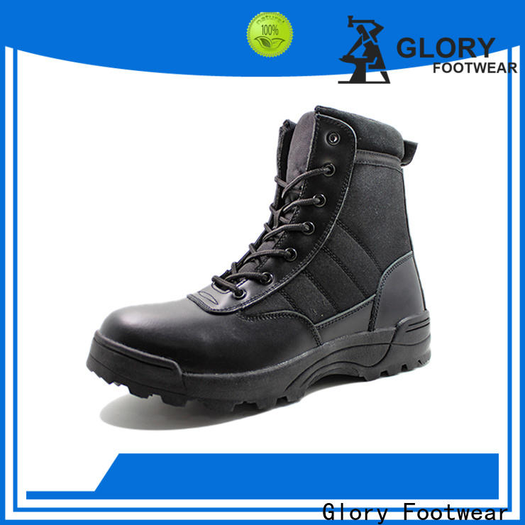 Glory Footwear black military boots free design