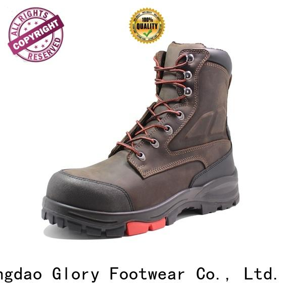 Glory Footwear superior steel toe boots free design for outdoor activity