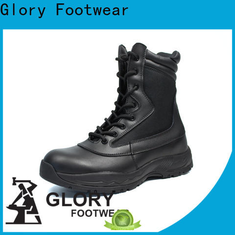newly best combat boots by Chinese manufaturer for outdoor activity