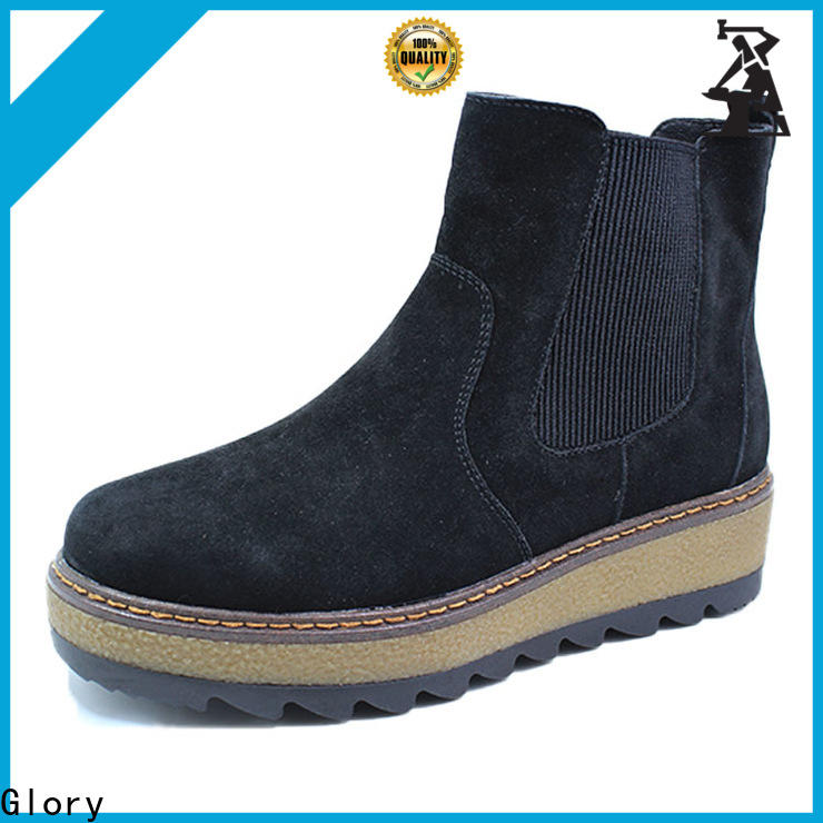 Glory Footwear quality short boots for women with good price for business travel