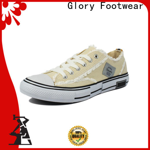 Glory Footwear canvas sneakers from China for business travel