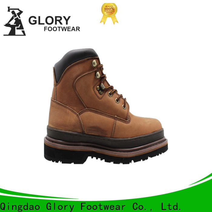 Glory Footwear superior lightweight work boots from China for business travel