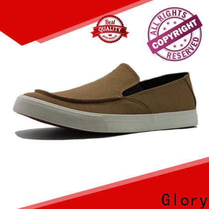Glory Footwear exquisite red canvas shoes factory price for business travel