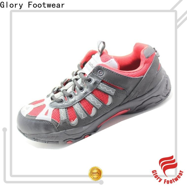 Glory Footwear steel toe shoes in different color for hiking