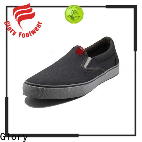 high-quality canvas slip on shoes for business travel