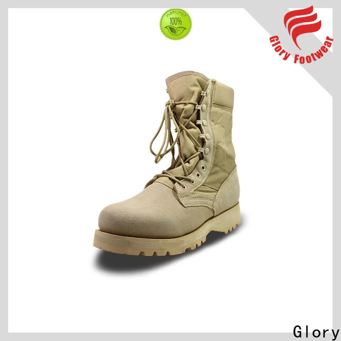 Glory Footwear outstanding black military boots long-term-use for outdoor activity