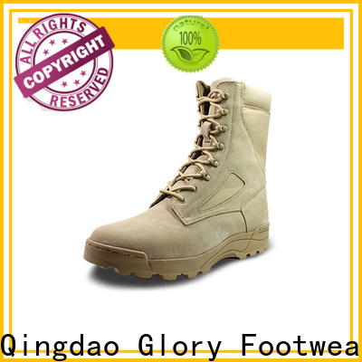 Glory Footwear fine-quality military boots fashion free design for party