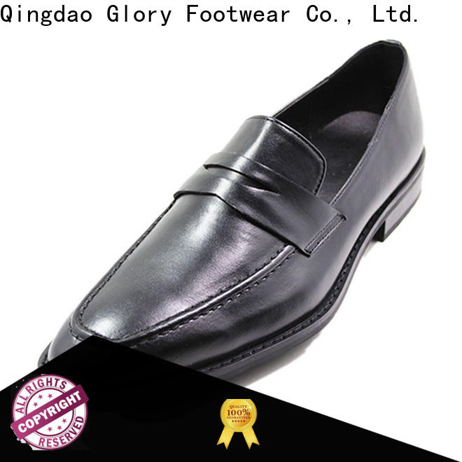 Glory Footwear black formal shoes for women factory price for outdoor activity