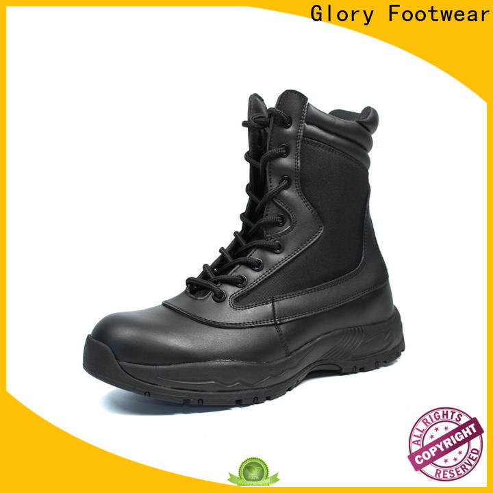 fine-quality lace up combat boots with cheap price for outdoor activity