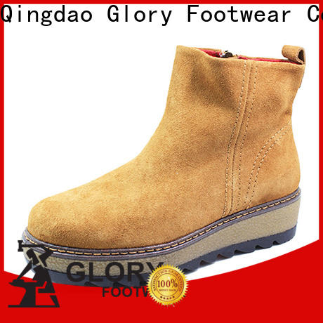 Glory Footwear useful suede boots women free design for winter day