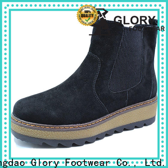 affirmative suede boots women factory price