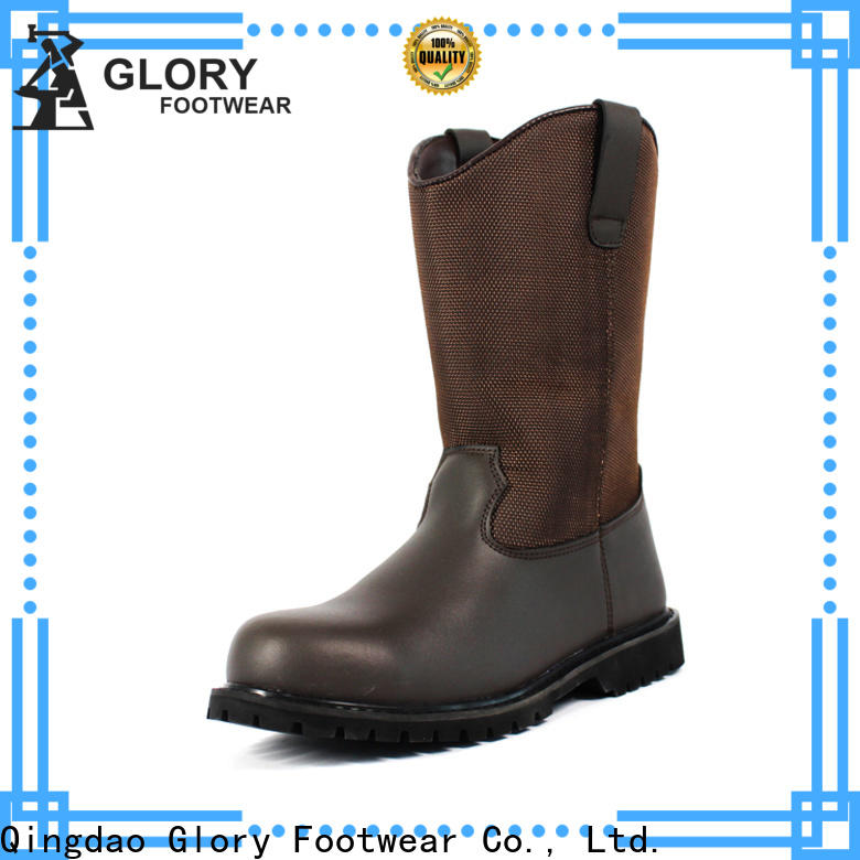 Glory Footwear leather work boots from China for shopping
