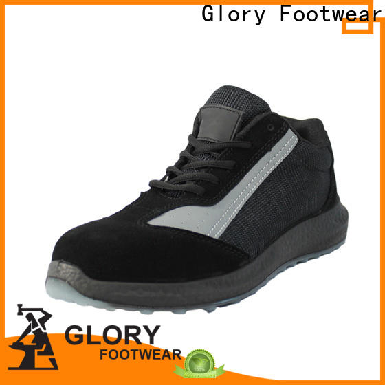 durable best safety shoes with good price for business travel