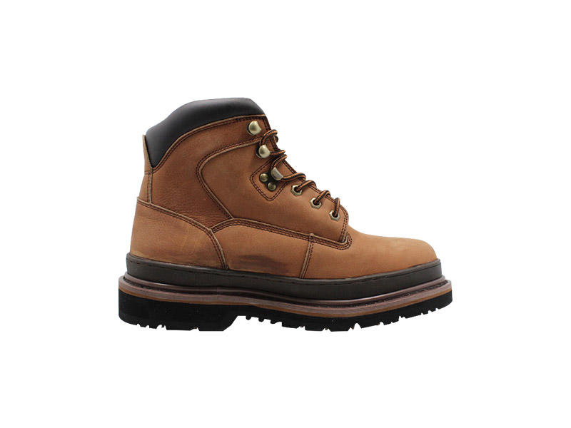 Anti-SmashingLightweight Goodyear Welt work boots With Anti-slip Outsole