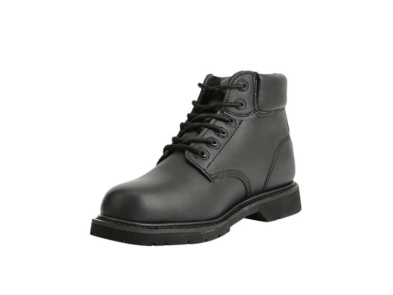 Best leather Black Goodyear welt boots