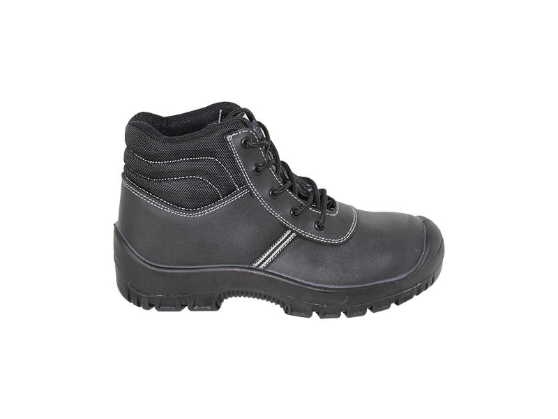 Work Environment PU Sole Safety Shoes , Steel Toe Anti Static