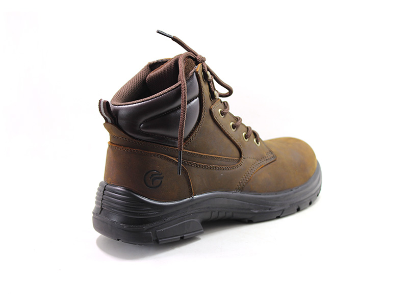 high end black work boots factory price for hiking-1
