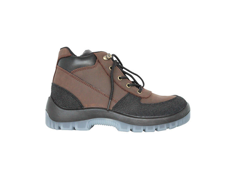Anti-smashing steel toe Work boots with TPU outsole