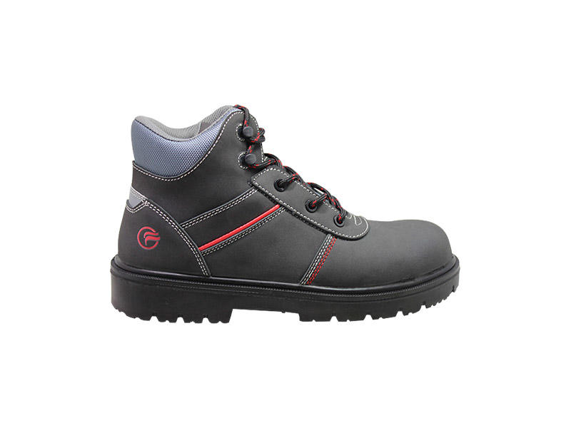 Fashion steel toe Work boots with PU outsole
