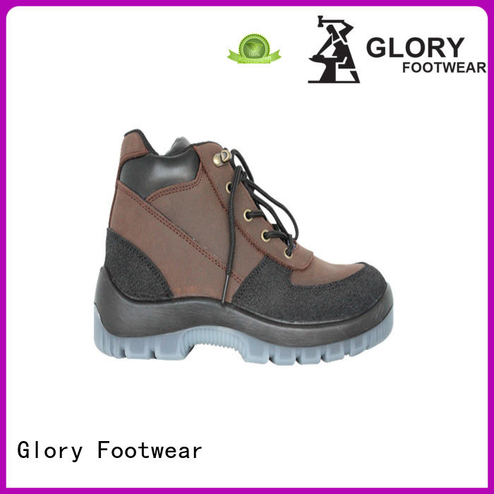Glory Footwear industrial goodyear welted shoes in different color for hiking