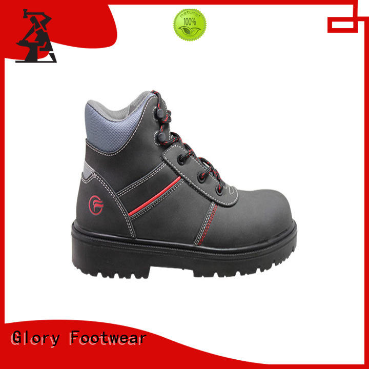 Glory Footwear sole steel toe shoes in different color for business travel