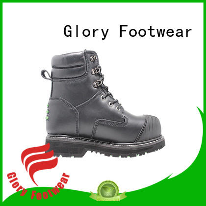 Glory Footwear gradely lace up work boots factory price for business travel