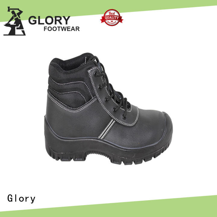 Glory Footwear men leather work boots with good price for winter day