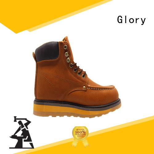 steel toe boots low for winter day Glory Footwear