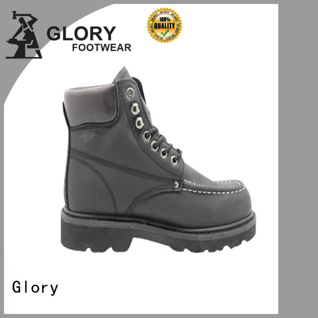 Glory Footwear gradely black work boots factory price for shopping