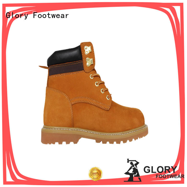 Glory Footwear safety lace up work boots Certified