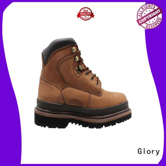 Glory Footwear low steel toe boots wholesale for winter day