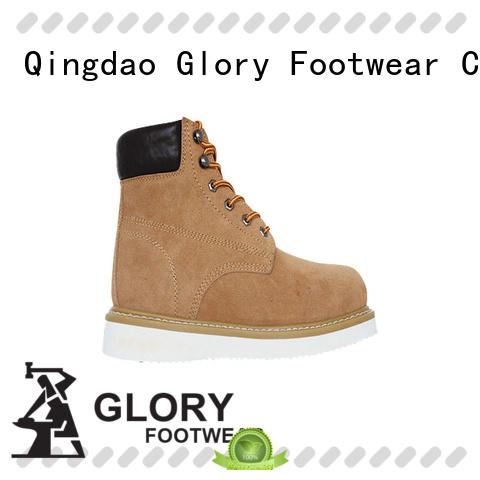 Glory Footwear new-arrival light work boots free design for party
